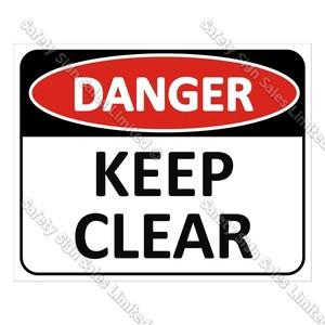 DA1 - Danger Keep Clear