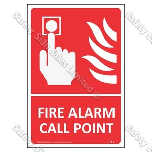 CYO|FFE01 Fire Alarm Call Point Labels