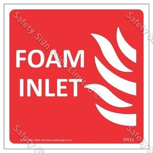 CYO FFE12 Foam Inlet Label