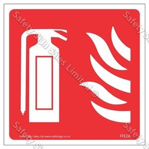 CYO|FFE02A Fire Extinguisher Label