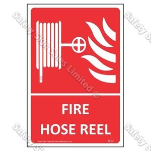 CYO|FFE03 Fire Hose Reel Label