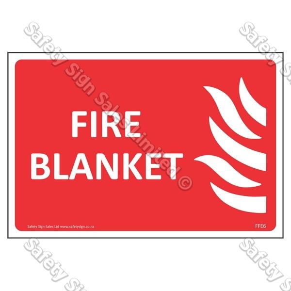CYO|FFE06 Fire Blanket Label