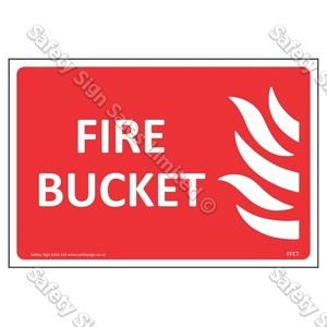 CYO|FFE07 Fire Bucket Label