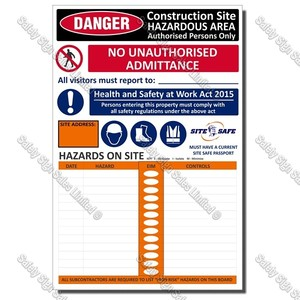 Site Safety Signs