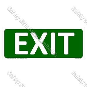 SC38 - Exit Sign