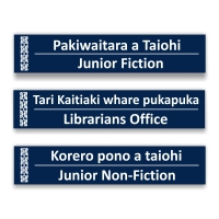 Bilingual - Library Signs