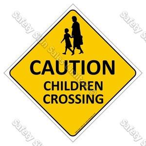 CYO|CS01 Caution. Children Crossing Sign