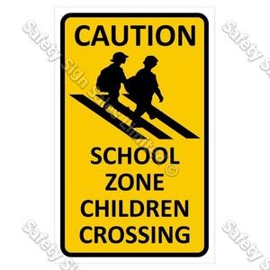 CYO|CS08 School Zone Sign