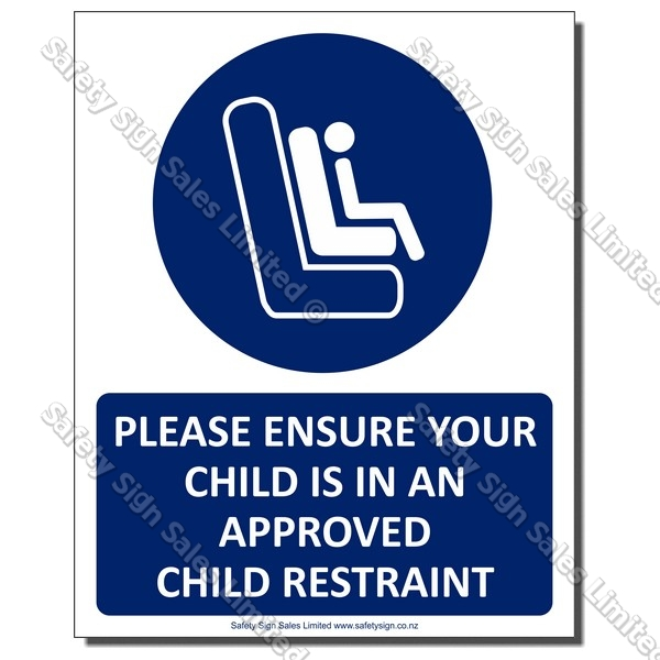 CYO|A32 Child Seat Sign