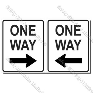 CYO|A57 One Way Sign