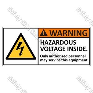 CYO|EL2 - Hazardous Voltage Label