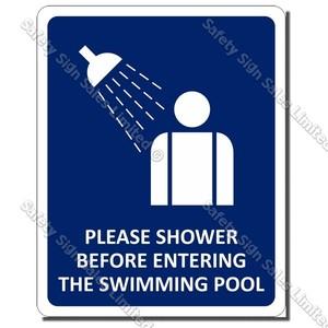 CYO GA - Shower Sign