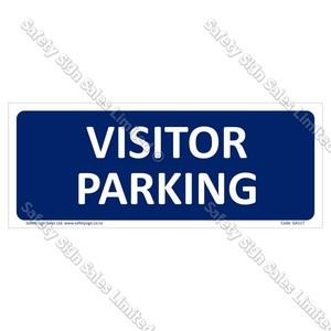 GA117 - Visitor Parking Sign