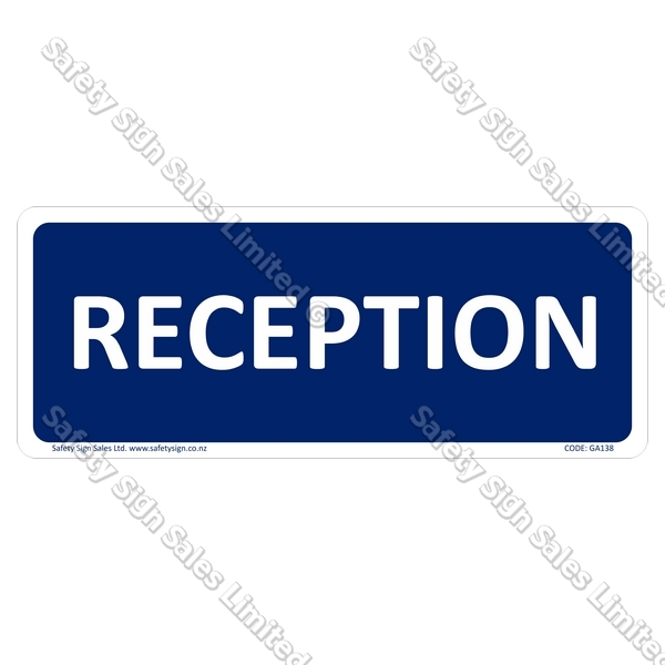 GA138 - Reception Sign