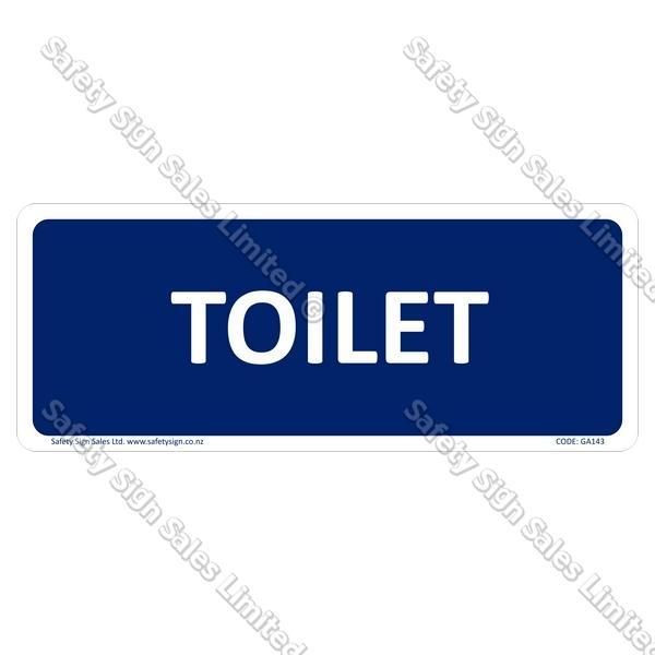 GA143 - Toilet Sign