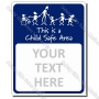 CYO|KSBlank - Custom Made Child Safe Sign