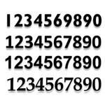 CYO|RF02 - SELF ADHESIVE NUMBERS & LETTERS