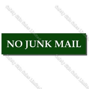 CYO LB02 - No Junk Mail Label