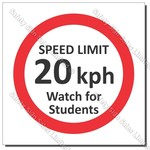 "CYO|PX60 - Speed Sign ""Watch for Students"""