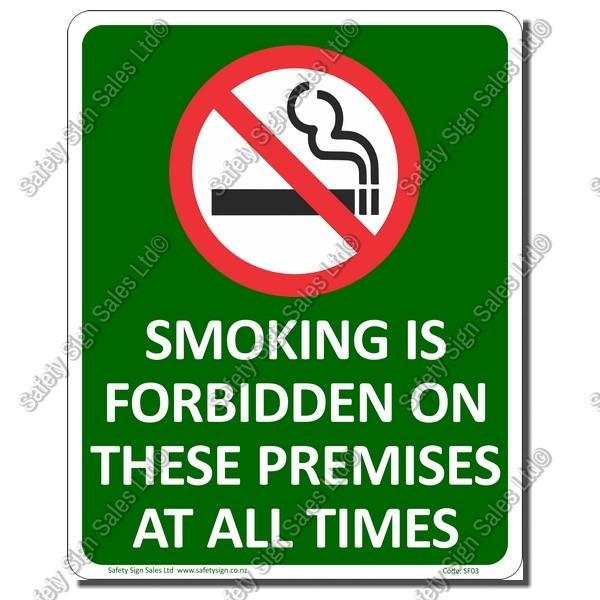 Smokefree Premises Sign