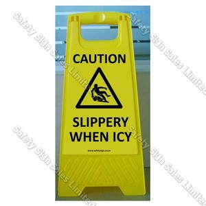 CYO|WG101 Slippery When Icy Sign