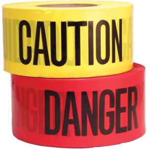 T02 - Caution Tape 75mm x 300m