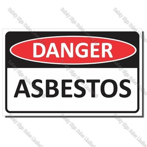 CYO|DA23 - Asbestos Sign