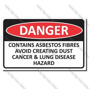 CYO|DA25 - Asbestos Sign