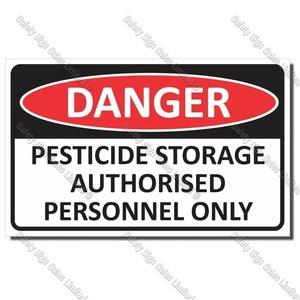 CYO|DA26 - Pesticide Sign