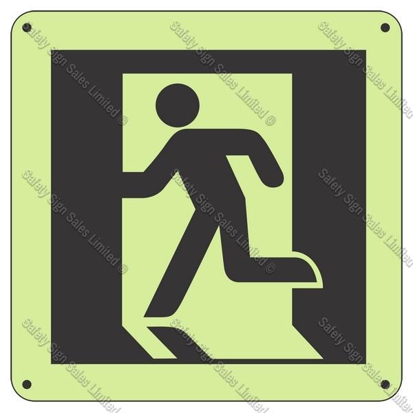 CYO|SCGID12 - Running Man Glow-In-The-Dark Sign