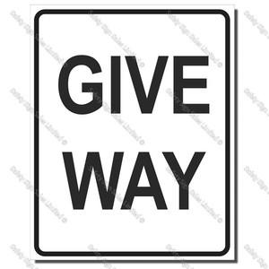 CYO|A63 - Give Way Sign