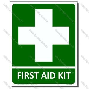 CYO-SC32B First Aid Kit Sign