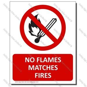 CYO-PA32 NO Flames Fires Matches