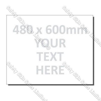 CYO|480 x 600mm Custom Made Sign