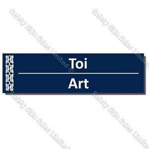 CYO|BIL Art - Bilingual Library Sign