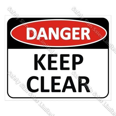 CYO|DA01 – Danger Keep Clear