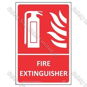 CYO|FFE02 Fire Extinguisher Label