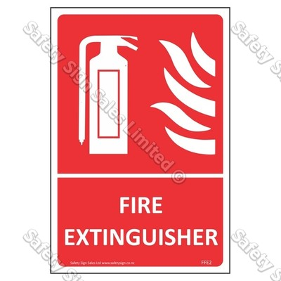 CYO|FFE02 - Fire Extinguisher Label
