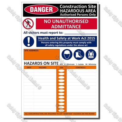 Site Safe Sign
