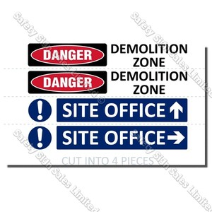 CYO|S04 - Site Safe Sign