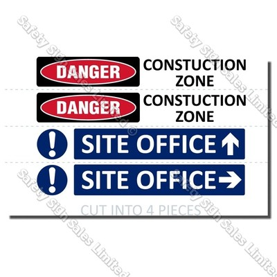 CYO|S06 Site Safe Signs