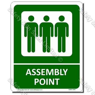 SC49 - Fire Assembly Point Sign