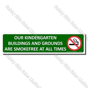 SF02 - Smokefree Kindergarten Sign