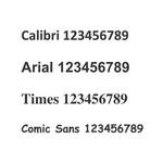 Self-Adhesive Numbers