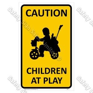 CYO|CS04 Children at Play Sign