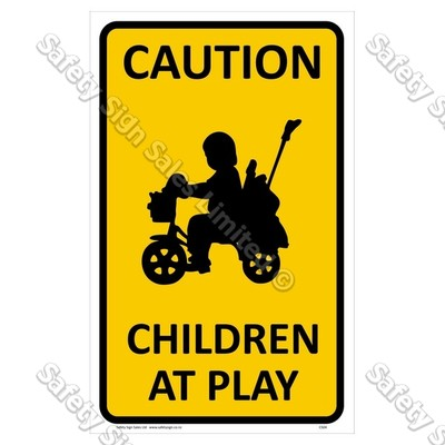 CYO|CS04 Children at Play Sign