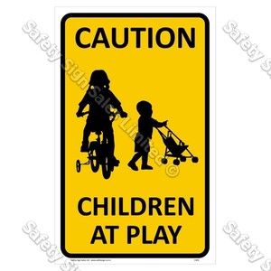 CYO|CS05 Children at Play Sign
