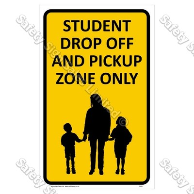 CYO|CS06 Student Drop Off Sign