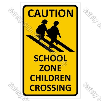 CYO|CS08 School Zone Sign