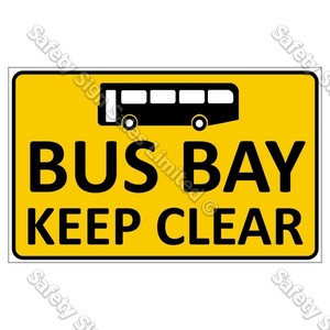 CYO|CS10 Bus Bay Sign